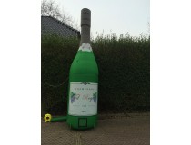 Champagne Fles 4,5 meter
